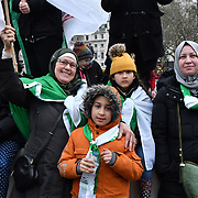 Hirak (movement) One year on, Algeria's protest movement, protestors demand change have enough of colonialism throughout history One year of continuous peaceful protest in London, UK.