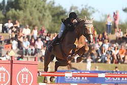 Robert Marie (FRA) - Rhune D'Euskadi<br /> 7 Years old horses<br /> Championship Young Horses Fontainebleau 2012<br /> © Hippo Foto - Counet Julien