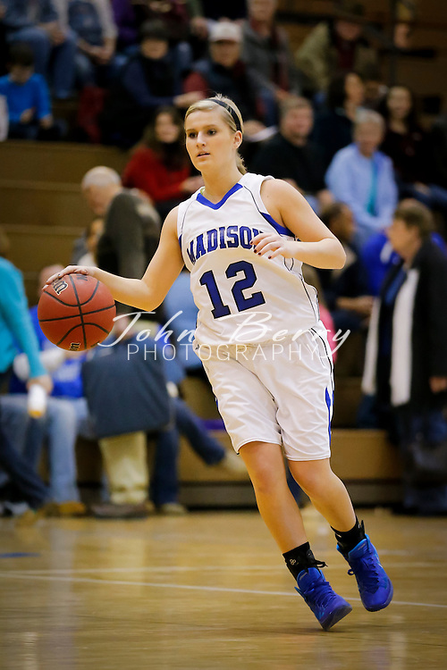 January 31, 2014:   MCHS Varsity Girls Basketball vs Warren Wildcats.  Madison defeats Warren 54-38.  Chandler Gentry finishes with 28 points, Maayke Gaunt with 14 points.