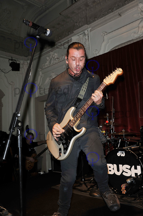 Gavin Rossdale..'Bush' performing live in concert, Bush Hall, Shepherd's Bush, London, England. 20 November 2011. Contact: rich@piqtured.com +44(0)7941 079620(Picture by Awais Butt)