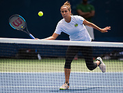 Madison Keys of the United States during practice at the 2018 US Open Grand Slam tennis tournament, New York, USA, August 21th 2018, Photo Rob Prange / SpainProSportsImages / DPPI / ProSportsImages / DPPI