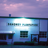 The Dahomey building sat in the curve of Highway 1 between Scott and Beulah for decades. It served as farm headquarters and a local landmark for the 10,000  acre Dahomey Plantation.