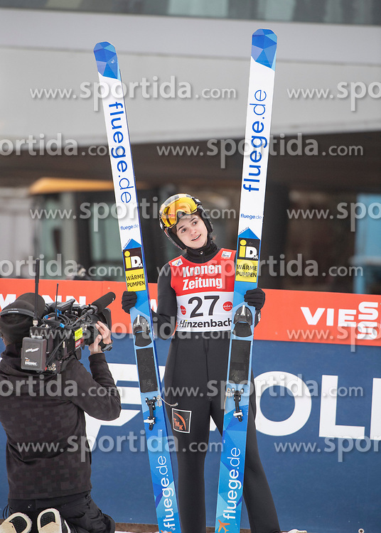 02.02.2019, Energie AG Skisprung Arena, Hinzenbach, AUT, FIS Weltcup Ski Sprung, Damen, Wertungsdurchgang, im Bild Sofya Tikhonova (RUS) // Sofya Tikhonova (RUS) during the woman's Competition Jump of FIS Ski Jumping World Cup at the Energie AG Skisprung Arena in Hinzenbach, Austria on 2019/02/02. EXPA Pictures © 2019, PhotoCredit: EXPA/ Reinhard Eisenbauer