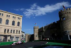 June 23, 2017 - Baku, Azerbaijan - Motorsports: FIA Formula One World Championship 2017, Grand Prix of Europe, .#31 Esteban Ocon (FRA, Sahara Force India F1 Team) (Credit Image: © Hoch Zwei via ZUMA Wire)