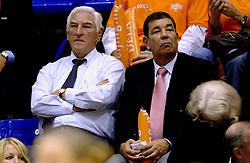 16-10-2006 VOLLEYBAL: DELA TROPHY: NEDERLAND - CUBA: ROTTERDAM<br /> De Nederlandse volleybalsters hebben de derde wedstrijd in de testserie tegen Cuba, met als inzet de Dela Cup, verloren. In Rotterdam zegevierde Cuba met 3-1 / Rotterdam Topsport Vips<br /> ©2006-WWW.FOTOHOOGENDOORN.NL