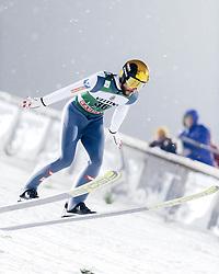 February 8, 2019 - Lahti, Finland - Manuel Fettner participates in FIS Ski Jumping World Cup Large Hill Individual training at Lahti Ski Games in Lahti, Finland on 8 February 2019. (Credit Image: © Antti Yrjonen/NurPhoto via ZUMA Press)
