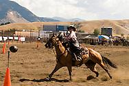 Cowgirl, Cowboy Mounted Shooting, Bozeman Montana