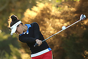 CAPE TOWN, SOUTH AFRICA - Wednesday 8 March 2016, Jade Rousseau tees off on the 2nd during the 1st Round of the Curro SA Juniors International at the Durbanville Golf Club. <br /> Photo by Shaun Roy/ImageSA