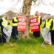 04.04.2017              <br /> Ard Scoil Mhuire, Corbally were out in force doing their bit for TLC3. Pictured are, Lanny Raven, Nicole Ryan, Megan Micks, Jade McNamara, Katelyn Long and Emma Ryan. Picture: Michael Andrews