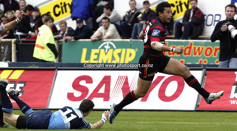 Canterbury V Northland Jade Stadium Oct 9 2004<br />