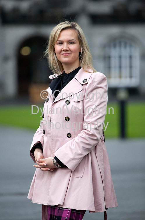14/5/2009 .Anna Michalska, from Poland, will contest the Kilkenny city Borough Council elections for Fianna Fail .Picture Dylan Vaughan