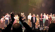"The performances of the ""Braodway Revue"" gets a rave review from the audience at the 2007 Arts Gala at Wright State University, Saturday evening.  Following this performance, Stuart McDowell invited the crowd in the Festival Playhouse to come up and dance in a club atmosphere to the music of 'the Grease combo.'."