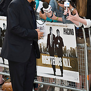 London  Sep 14 Leicester Square Al Pacino and Robert de Niro attend the UK premiere of Righteous Kill in Leicester Square on September 14