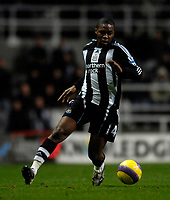 Photo: Jed Wee/Sportsbeat Images.<br /> Newcastle United v Arsenal. The FA Barclays Premiership. 05/12/2007.<br /> <br /> Newcastle's Charles N'Zogbia.
