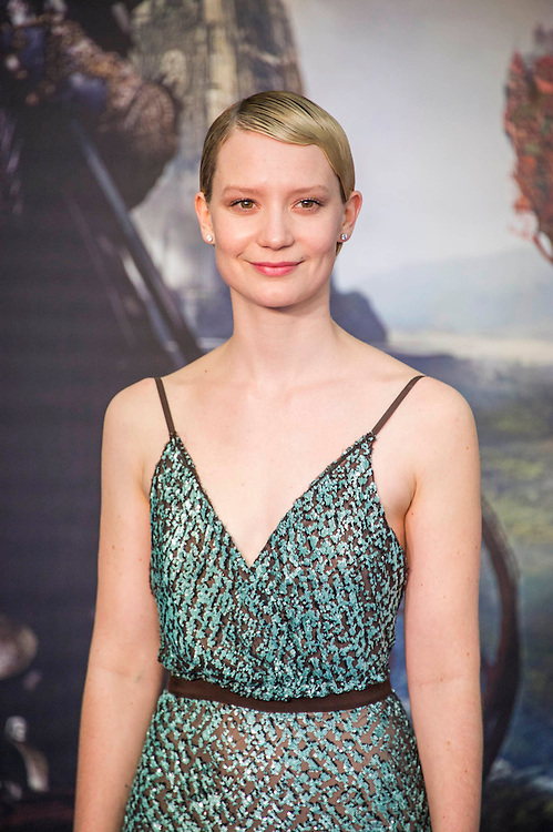 Mia Wasikowska -Alice Through the Looking Glass premiere - a Walt Disney American fantasy adventure film directed by James Bobin, written by Linda Wo olverton and produced by Tim Burton. It is based on Through the Looking-Glass by Lewis Carroll and is the sequel to the 2010 film Alice in Wonderland. The film stars Johnny Depp, Anne Hathaway, Mia Wasikowska, Rhys Ifans, Helena Bonham Carter, and Sacha Baron Cohen and features the voices of Alan Rickman, Stephen Fry, Michael Sheen, and Timothy Spall.