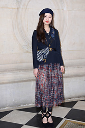 Suzy Bae attending the Christian Dior show as part of the Paris Fashion Week Womenswear Fall/Winter 2019/2020 in Paris, France on February 26, 2019. Photo by Aurore Marechal/ABACAPRESS.COM