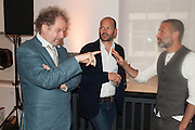 MIKE FIGGIS; MICHAEL MACK; ADAM BROOMBERG, Deutsche Börse photography prize: 2013. Photographer's Gallery. London. 11 June 2013.