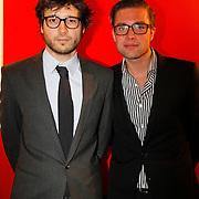 NLD/Hoofddorp/20120206 - Premiere Eten met Vrienden, ….. en Jelle de Jong