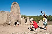 Sardegna, Italy. Comune di Arzachena, Tombe dei Giganti di Coddu Vecchju.