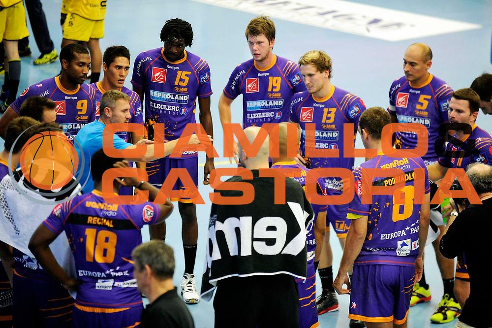 DESCRIZIONE : Handball Tournoi de Cesson Homme<br /> GIOCATORE : <br /> SQUADRA : Tremblay<br /> EVENTO : Tournoi de cesson<br /> GARA : Tremblay Selestat<br /> DATA : 07 09 2012<br /> CATEGORIA : Handball Homme<br /> SPORT : Handball<br /> AUTORE : JF Molliere <br /> Galleria : France Hand 2012-2013 Action<br /> Fotonotizia : Tournoi de Cesson Homme<br /> Predefinita :