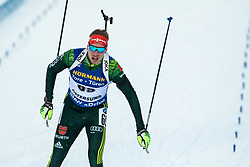 March 9, 2019 - –Stersund, Sweden - 190309 Benedikt Doll of Germany competes in the Men's 10 KM sprint during the IBU World Championships Biathlon on March 9, 2019 in Östersund..Photo: Johan Axelsson / BILDBYRÃ…N / Cop 245 (Credit Image: © Johan Axelsson/Bildbyran via ZUMA Press)