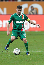 01.03.2014, SGL Arena, Augsburg, GER, 1. FBL, FC Augsburg vs Hannover 96, 23. Runde, im Bild Daniel Baier #10 (FC Augsburg) // during the German Bundesliga XXth round match between FC Augsburg and Hannover 96 at the SGL Arena in Augsburg, Germany on 2014/03/01. EXPA Pictures © 2014, PhotoCredit: EXPA/ Eibner-Pressefoto/ Kolbert<br /> <br /> *****ATTENTION - OUT of GER*****