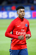 Presnel Kimpembe (PSG) during the French Championship Ligue 1 football match between Paris Saint-Germain and OGC Nice on October 27, 2017 at Parc des Princes stadium in Paris, France - Photo Stephane Allaman / ProSportsImages / DPPI