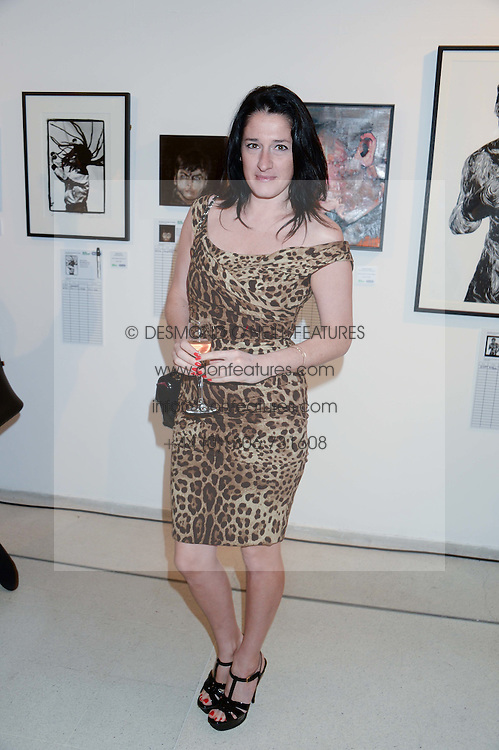 AMY MOLYNEAUX at the Macmillan De'Longhi Art Auction 2013 held at the Royal College of Art, London on 23rd September 2013.