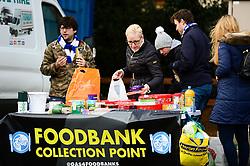 Foodbank collection point at the Memorial Stadium  - Mandatory by-line: Dougie Allward/JMP - 07/12/2019 - RUGBY - Ashton Gate - Bristol, England - Bristol Bears v London Irish - Gallagher Premiership Rugby