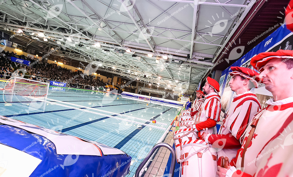 Venue Sbandieratori<br /> Italy (white Caps)  Vs. France (Blue Caps)  ITA - FRA<br /> FINA Women Water Polo World League 2016-17<br /> Pallanuoto Water Polo<br /> Firenze  Florence Italia <br /> Day 02 November 21, 2016<br /> Photo G.Scala/Insidefoto/Deepbluemedia