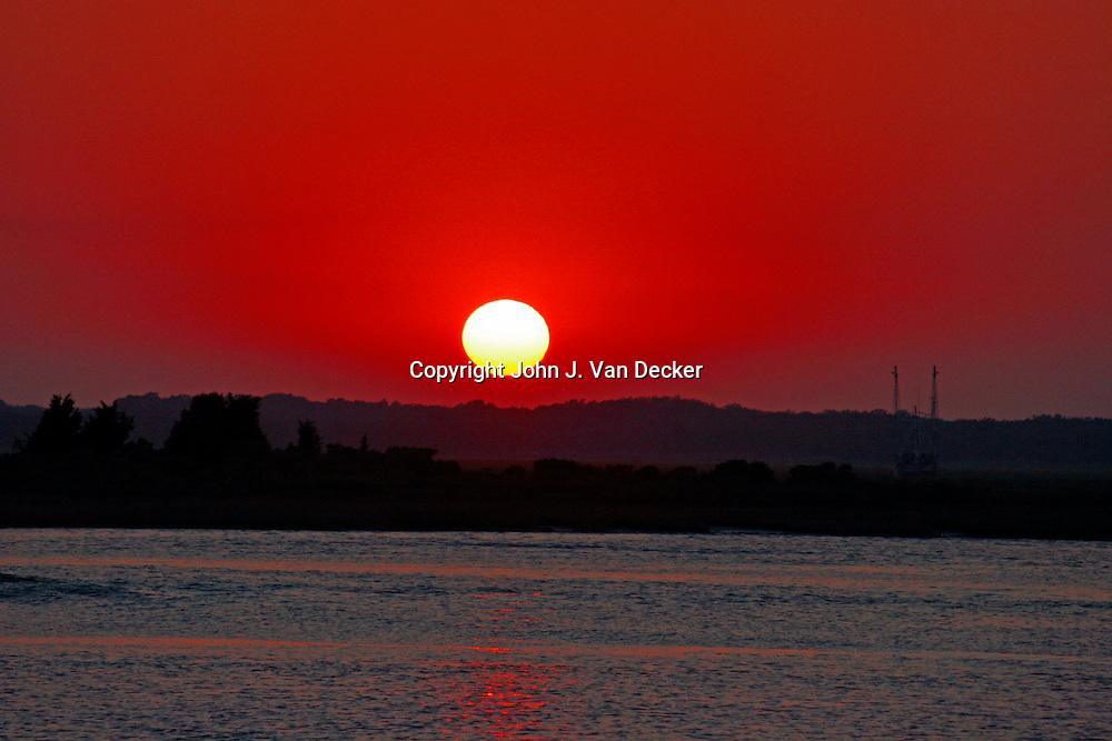 Sunset - Wildwood Crest, NJ, USA scenic