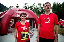 Helena Javornik at 10th Nocna 10ka 2016, traditional run around Bled's lake, on July 09, 2016 in Bled,  Slovenia. Photo by Vid Ponikvar / Sportida
