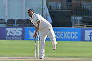 Samit Patel bowling during the Specsavers County Champ Div 2 match between Sussex County Cricket Club and Nottinghamshire County Cricket Club at the 1st Central County Ground, Hove, United Kingdom on 28 September 2017. Photo by Simon Trafford.