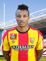 Jean Philippe GBAMIN - 30.10.2015 - Portrait Officiel - Lens<br /> Photo : RC Lens / Icon Sport