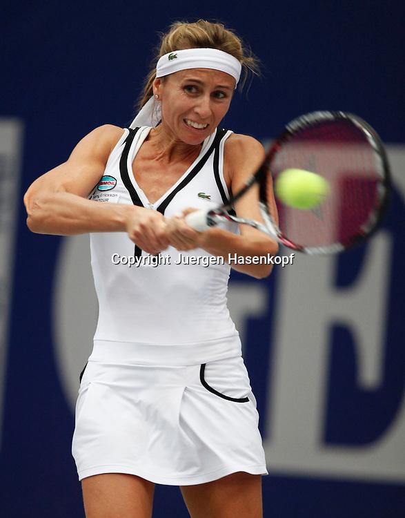 Generali Ladies Linz Open 2010,WTA Tour, Damen.Hallen Tennis Turnier in Linz, Oesterreich,.Gisela Dulko (ARG)