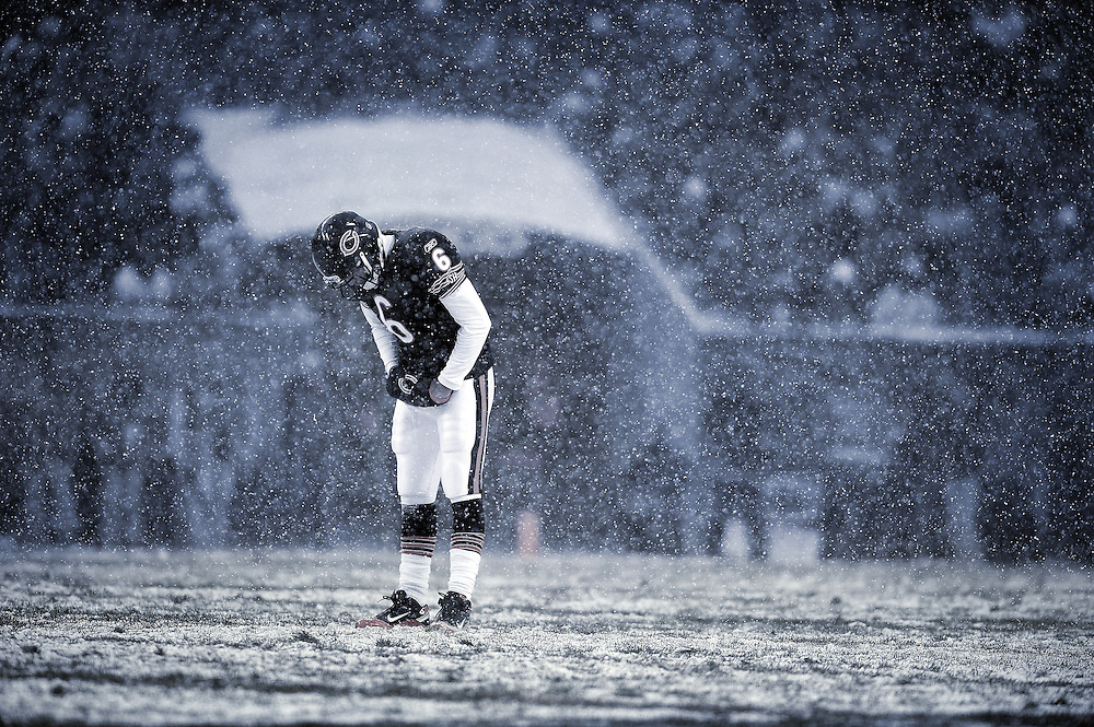 Photo By Michael R. Schmidt.Chicago Bears' Jay Cutler..