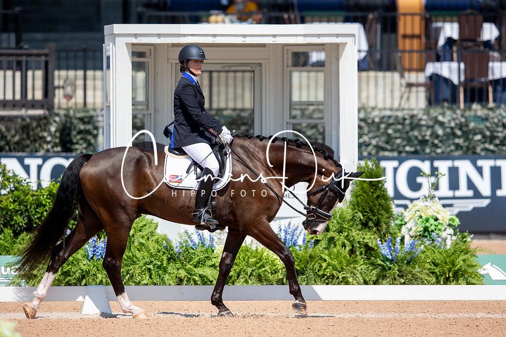Trunnell Roxanne, USA, Dolton<br /> World Equestrian Games - Tryon 2018<br /> © Hippo Foto - Sharon Vandeput<br /> 19/09/2018