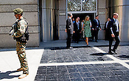11-10-2016 BUENOS AIRES  - T&eacute;te a T&eacute;te &amp; Meeting with Minister of Foreign Affairs, Ms. Susana Malcorra .   Queen Maxima visits Argentina in its role of special advocate of the Secretary-General of the United Nations for Inclusive Finance for Development. COPYRIGHT ROBIN UTRECHT NETHERLANDS ONLY <br /> 11-10-2016 BUENOS AIRES  - Koningin Maxima  bezoek Argentinie  in haar functie van speciale pleitbezorger van de secretaris-generaal van de Verenigde Naties voor Inclusieve Financiering voor Ontwikkeling. COPYRIGHT ROBIN UTRECHT NETHERLANDS ONLY