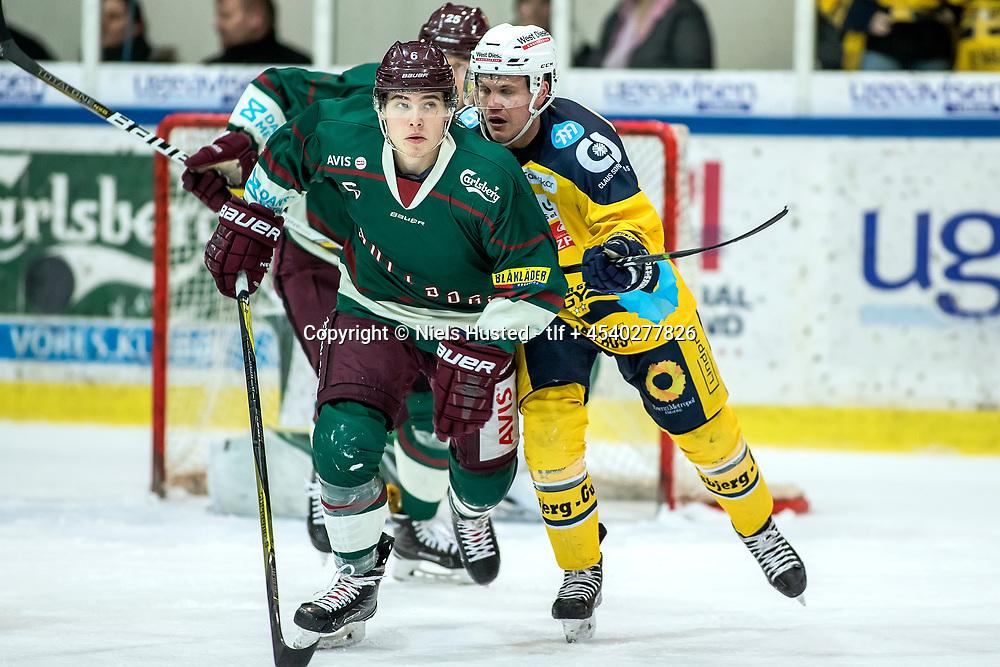 Ishockey, Metalligaen, Esbjerg Energy og Odense Bulldogs 3:1. #6 Andreas Pedersen, Odense Bulldogs