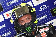 #46 Valentino Rossi, Italian: Movistar Yamaha MotoGP during the Motul Dutch TT MotoGP, TT Circuit, Assen, Netherlands on 29 June 2019.