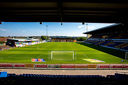 A general view of the inside of the One Call Stadium, home to Mansfield Town - Mandatory by-line: Ryan Crockett/JMP - 01/09/2018 - FOOTBALL - One Call Stadium - Mansfield, England - Mansfield Town v Carlisle United - Sky Bet League Two