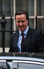 2015-02-24 David Cameron in Downing Street following Rifkind resignation