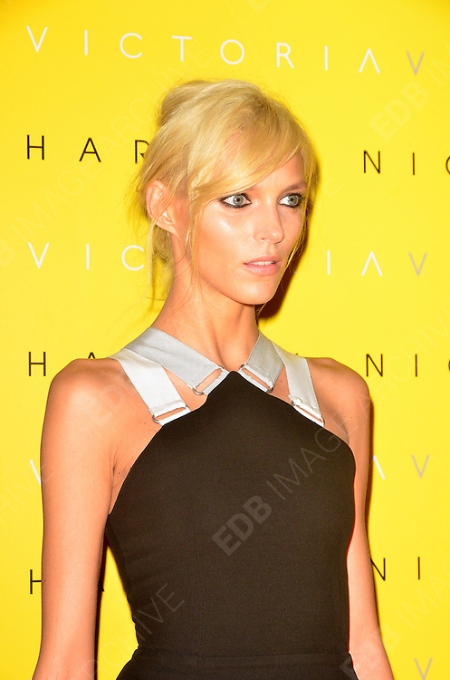17.FEBRUARY.2012. LONDON<br /> <br /> ANJA RUBIK AT THE LAUNCH OF THE VICTORIA BECKHAM'S NEW FASHION LINE 'VICTORIA' AT HARVEY NICHOLS IN LONDON<br /> <br /> BYLINE: EDBIMAGEARCHIVE.COM<br /> <br /> *THIS IMAGE IS STRICTLY FOR UK NEWSPAPERS AND MAGAZINES ONLY*<br /> *FOR WORLD WIDE SALES AND WEB USE PLEASE CONTACT EDBIMAGEARCHIVE - 0208 954 5968*