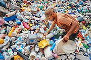 Plastic sorting for Recycling, Ezbet El Nakhl, Egypt 2009