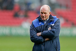 Bristol Rugby Director of Rugby Andy Robinson looks on - Mandatory byline: Rogan Thomson/JMP - 30/01/2016 - RUGBY UNION - Ashton Gate Stadium - Bristol, England - Bristol Rugby v Jersey - Greene King IPA Championship.