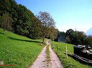Mountain path, Western Austria