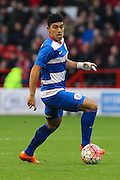 Queens Park Rangers midfielder Massimo Luongo on the ball during The FA Cup third round match between Nottingham Forest and Queens Park Rangers at the City Ground, Nottingham, England on 9 January 2016. Photo by Aaron Lupton.