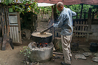 Mixing Pig, Hog food, Cacao Plantation Cuba 2020 from Santiago to Havana, and in between.  Santiago, Baracoa, Guantanamo, Holguin, Las Tunas, Camaguey, Santi Spiritus, Trinidad, Santa Clara, Cienfuegos, Matanzas, Havana