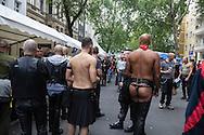 Germany. Berlin. Folsom europe gay and lesbian festival, leather and fetish  / Folsom Europe. festival gay et lesbien  cuir - fetichistes   Berlin - Allemagne