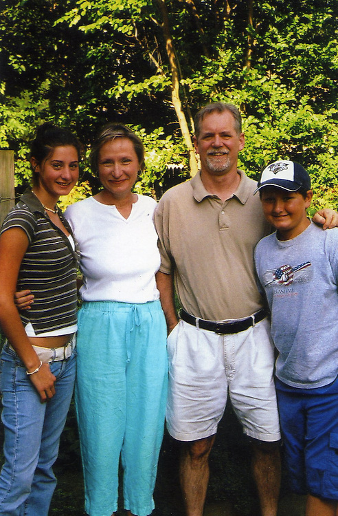 Stephanie, Mom, Dad, & John